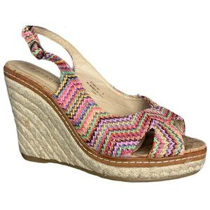 Bamboo | Multicolor Wedges